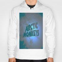 arctic monkeys Hoodies featuring Arctic Monkeys by SLIDE