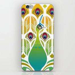 Java Green Peacock [Pavo Muticus] iPhone Skin