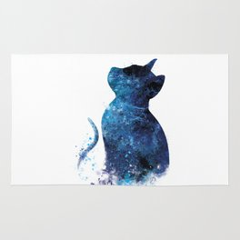 Blue Cat Rug