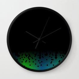 HONEY BLACK Wall Clock