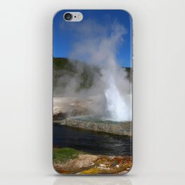 Thermal And Geyser Field Yellowstone NP iPhone Skin