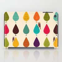 leaves iPad Cases featuring Leaves by Kakel