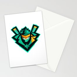 green ninja Stationery Cards