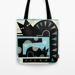SQUARE TAILS Tote Bag