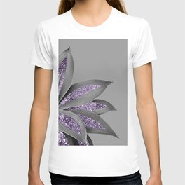 Agave Finesse Glitter Glam #4 #tropical #decor #art #society6 T-shirt