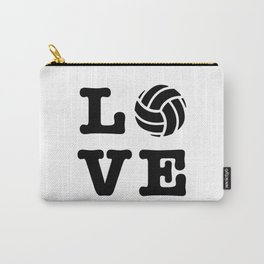 I Love Volleyball Carry-All Pouch