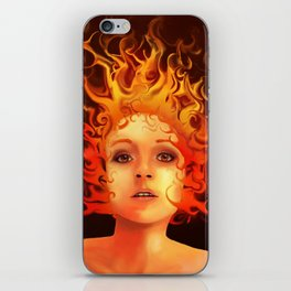 Flame Princess iPhone Skin
