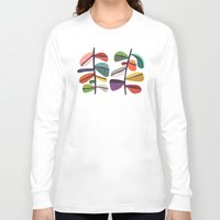 plant Long Sleeve T-shirts featuring Plant specimens by Picomodi