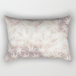 Silver Haze Rectangular Pillow