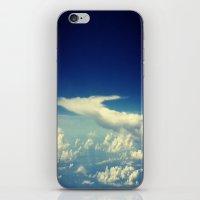 cloud iPhone & iPod Skins featuring  Cloud by Sumii Haleem