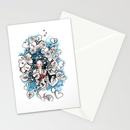 Lady Tranquility Stationery Cards