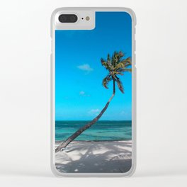 San Pedro Palm Clear iPhone Case