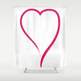 Ink Love Shower Curtain