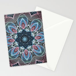 Kaleid 2 by Leslie Harlow Stationery Cards