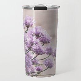 Flower Chives Travel Mug