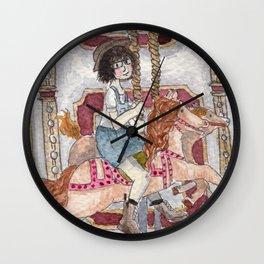 Child at Heart Wall Clock