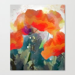 Poppies  2017 Canvas Print