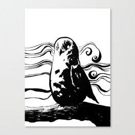 Mist Owl Canvas Print