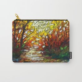 Impression Sunset by OLena Art Carry-All Pouch