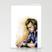 harry Stationery Cards featuring HARRY by Seefirefly