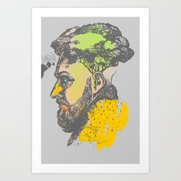 With love, brother Art Print