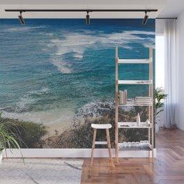Surfer meets Sea - Diamond Head / Oahu / Hawaii Wall Mural
