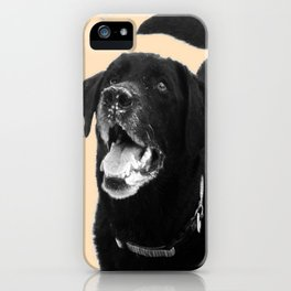 Labrador Happy iPhone Case
