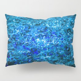 Water Color - Dark Blue - Navy Pillow Sham