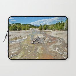 Yellowstone National Park River of Sulfur Laptop Sleeve