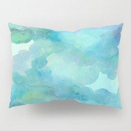 Breathing Under Water (Ocean Clouds) Pillow Sham