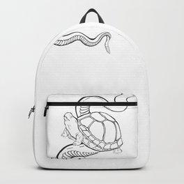 Gopher Tortoise & Eastern back Rattlesnake Backpack