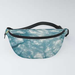 Smoky Mountain Summer Forest Teal - National Park Nature Photography Fanny Pack