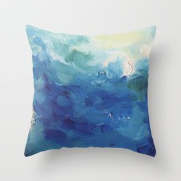 From Below v.1 Throw Pillow