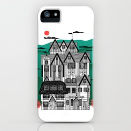 Tudor Revival iPhone Case