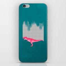 DinoRose - pinky tyrex iPhone & iPod Skin
