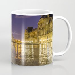 The Louvre at night Coffee Mug