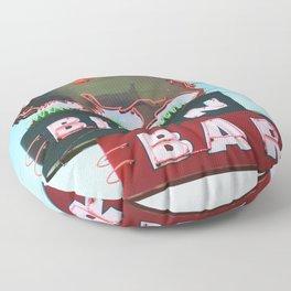 The Bison Bar Floor Pillow