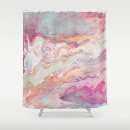 And come forth from the cloud of unknowing Shower Curtain