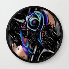 Night Brain Invasion Wall Clock