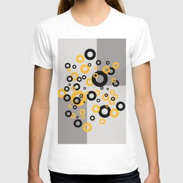 Retro Vintage Design with Rings T-shirt