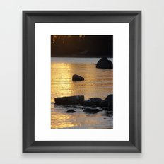 Closing of Another Day Framed Art Print