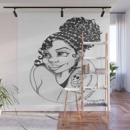 ShyGirl Wall Mural