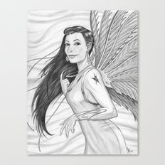 The Mythical Flying Idzit Canvas Print