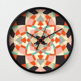 Southwest Quilt #1 Wall Clock
