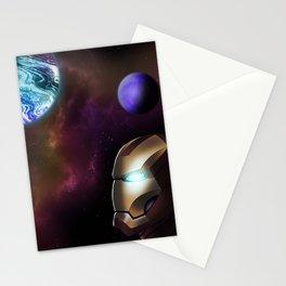 Iron Man Galaxy Stationery Cards