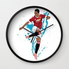 Anthony Martial - Manchester United FC Wall Clock