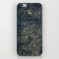 cinema iPhone & iPod Skins featuring ENGRAVE CINEMA by AMULET