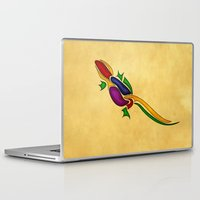 lizard Laptop & iPad Skins featuring Lizard by Aleksandra Mikolajczak