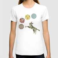 games T-shirts featuring Ball Games by Cassia Beck