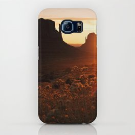 Sunrise in Monument Valley iPhone Case